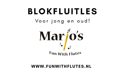 Diensten – Marjo's Fun With Flutes